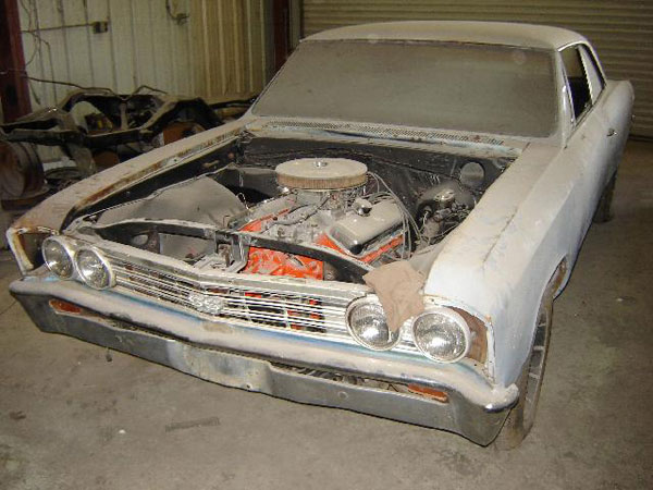 Chevelle Project – Vintage Muscle Car Parts